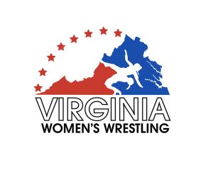 Virginia Women's Wrestling Logo